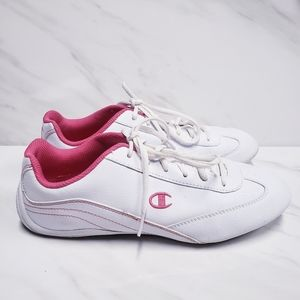 Champion Pink & White Sneakers Size 9